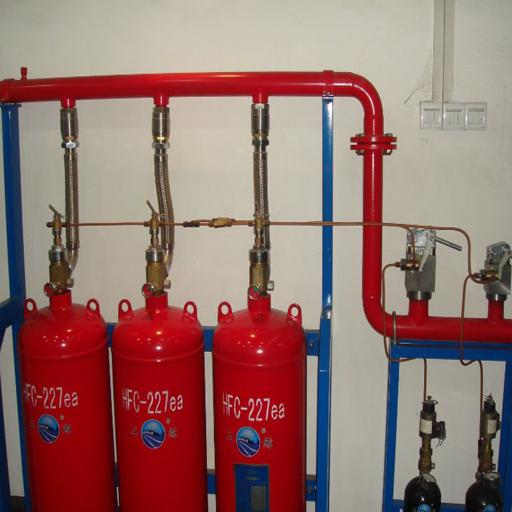 سیستم اطفاحریق با گاز FM200